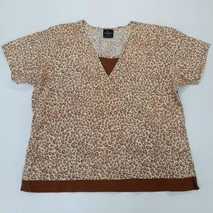 3/$20 Baby Phat women's short sleeve blouse xl